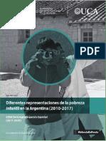 Diferentes Representaciones de La Pobreza Infantil en Argentina 24-04-18