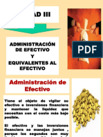 Cap_ III Administración Efectivo
