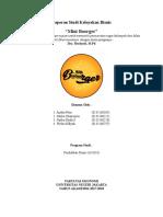 Studi Kelayakan Bisnis Mini Boorger