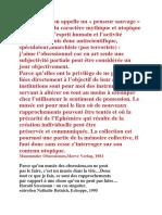 Harald Szeemann Citations CAPC Bordeaux