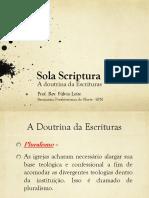Sola Scriptura - Paulo Anglada