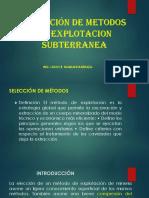 5. Selecc.metod.explot.subterr