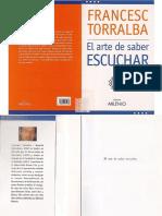 Torralba, Francesc - El Arte de Saber Escuchar
