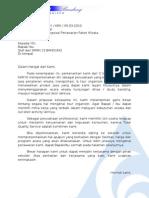 Surat Penawaran Instansi Sekolah