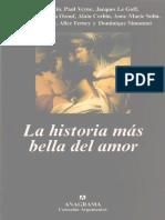 AA.vv. - La Historia Mas Bella Del Amor Ed. Anagrama 2004