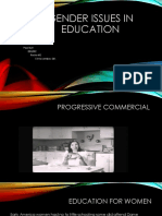 gender issues in education