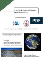 161217 Importancia de La Tesis de Titulo en Geologia e Ingenieria Geologica