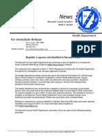 Macomb County Hepatitis A