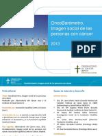 Informe Imagen Social Personas Cancer ESPAÑA