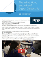 artifact 1 - schoology-digital citizenship webquest