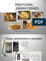 Lithuania Traditional Dishes