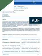 Clinicaldigitalphotographyinorthodontic