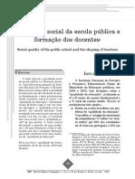 Artigo - Qualidade Social Da Escola Pública