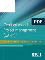 Certified Associate Project Management Exam Outline Sixth_2017