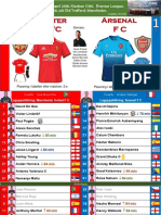 Premier League 180429 week 36 Manchester United - Arsenal 2-1