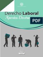 Derecho Labora Tomo1 Aportes Doctrinarios