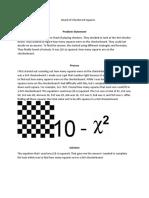 board of checker squares