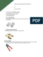 Herramientas Necesarias Para Elaborar Una Red LAN