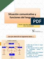 El Texto y La Situación Comunicativa
