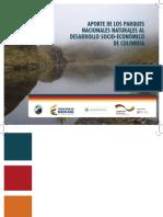 Aporte de Los Parques Nacionales Naturales Al Desarrollo Socio-económico de Colombia