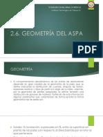 2.6. Geometria Del Aspa