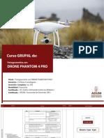 Silabus de Drone Phanton 4 pro