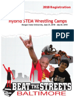 2018 STEM-Wrestling Camp, Morgan State University, Grades 4-8