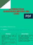 Alternativas Subniveles Metodo Del Cono