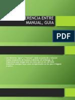 DIFERENCIA ENTRE MANUAL, GUIA.pptx