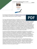 Introduction a La Reification Histoire Et Actualite Du Concept Critique