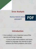 error analysis- shamsa abdulla1