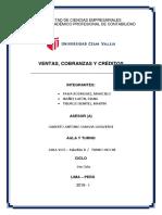 Informe Final de Ventas Credito Cobranza