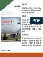 Analisis Aeronaves y Suministro de Combustible