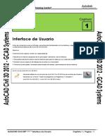 Civil3D 2012 Capitulo 1 - Interface de Usuario