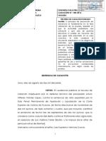 Legis.pe Casación 158 2016 Huaura Diligencias Sin Presencia Injustificada Del Fiscal Carecen de Valor Probatorio Suficiente Para Condenar