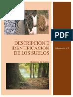 Laboratorio #1 Descripción e Identificación de Los Suelos
