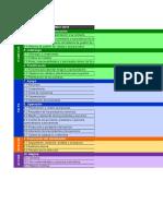 Excel de Correspondencia de Las Normas ISO 9001.2015, IsO 14001.2015, IsO 45001.2018