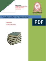 UNIDAD I Introduccion a La Economia