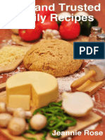Tried and Trusted Family Recipes