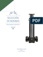 Selección de una bomba