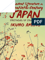 Ikuho Amano (Auth.) - Decadent Literature in Twentieth-Century Japan_ Spectacles of Idle Labor (2013, Palgrave Macmillan US)