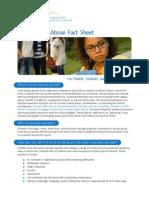 Child Sexual Abuse Factsheet