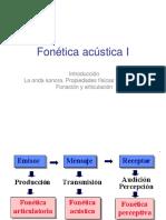 FONETICA ACUSTICA 1