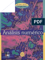 Libro 2 Análisis Numérico. Richard L. BurdenJ. Douglas Faires. Thompson Learning..pdf