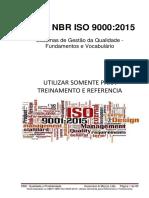 Iso 9000 2015 Treinamento Rev 1