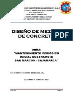 DISEÑO MEZCLA 210