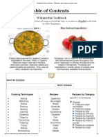 Cookbook_Table of Contents -