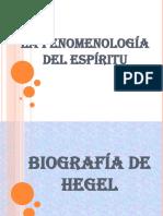 Fenomenología Del Espiritu- Diapositiva