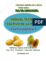 1 Manual Tco Del Cultivo de Papaya