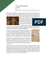 Resumen Historia de La Notación Musical